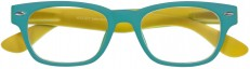Woody Selection Turquoise-Yellow Readers by I Need You Readers