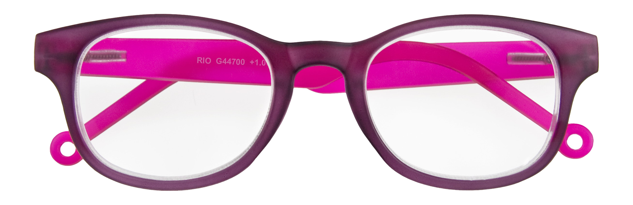 Purple-pink Rio Style readers from I Need You