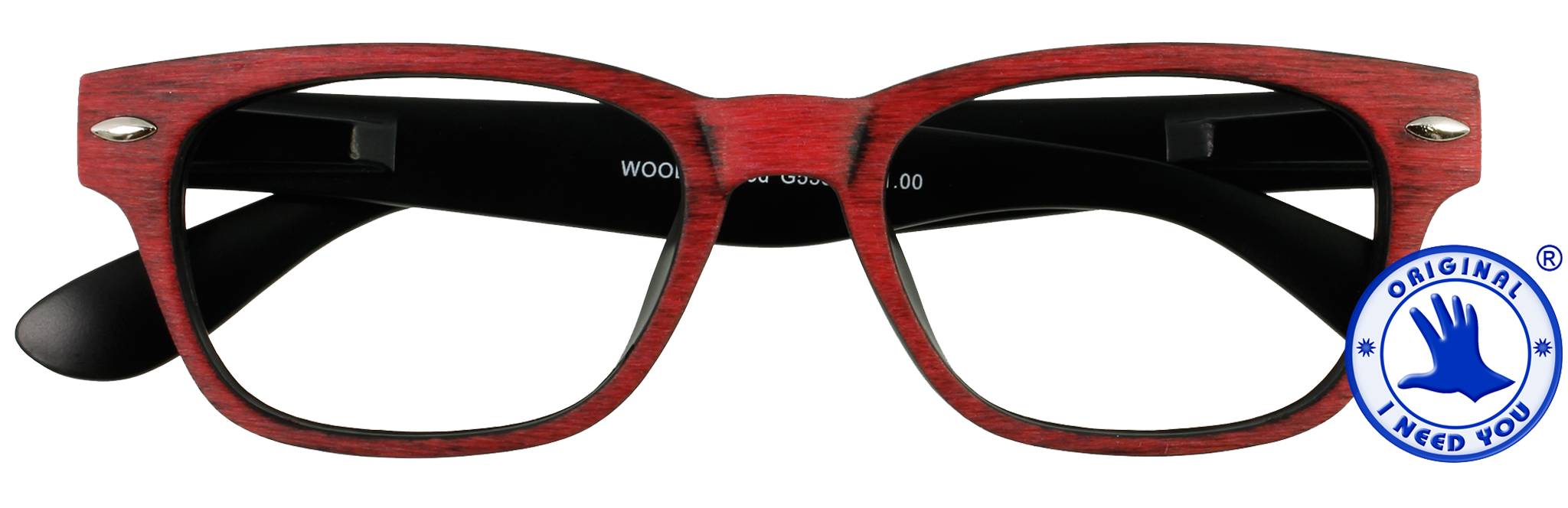 Woody Wood red Readers by I Need You Readers